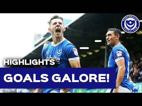 Highlights: Portsmouth 4-2 Wycombe Wanderers