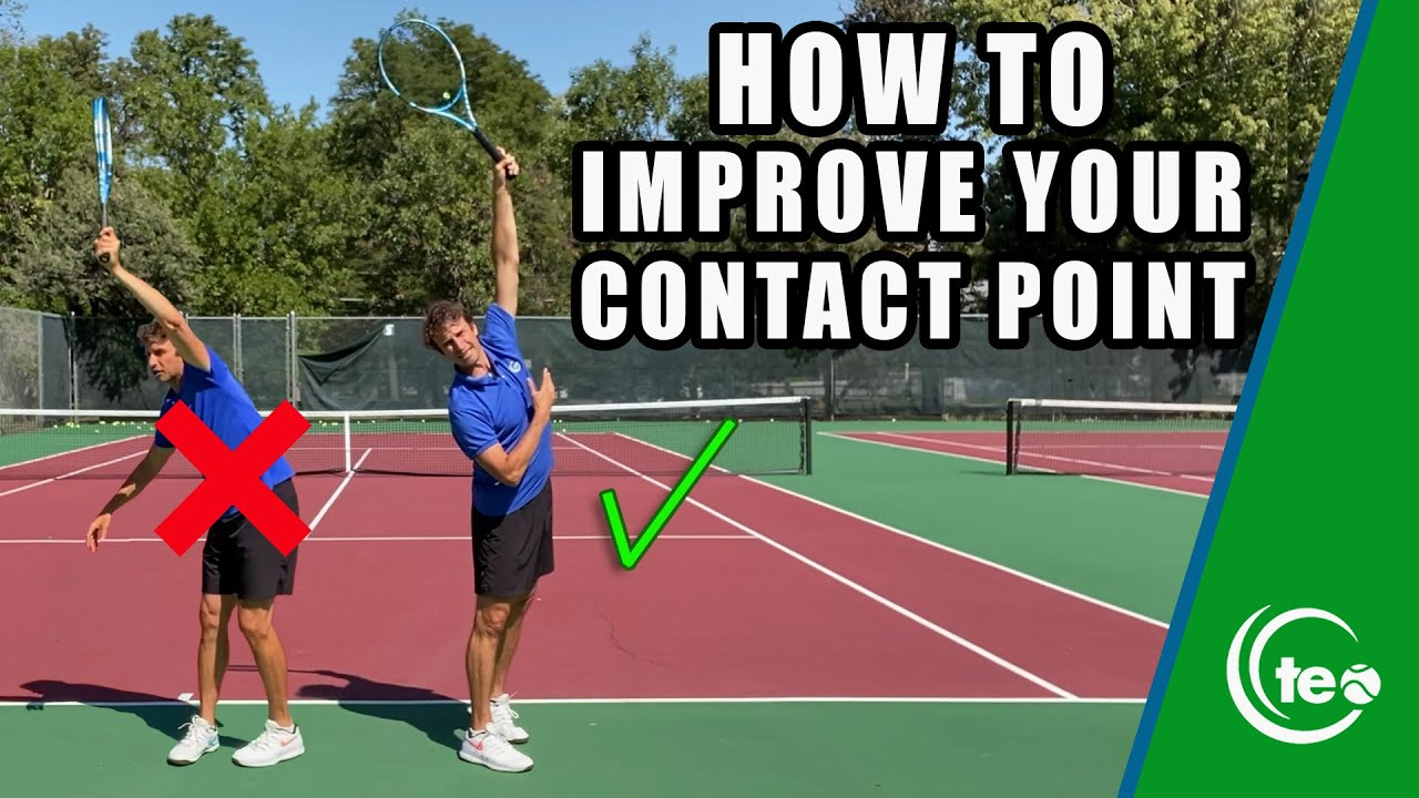 3 Simple Tips To Improve Your Serve: TENNIS LESSON