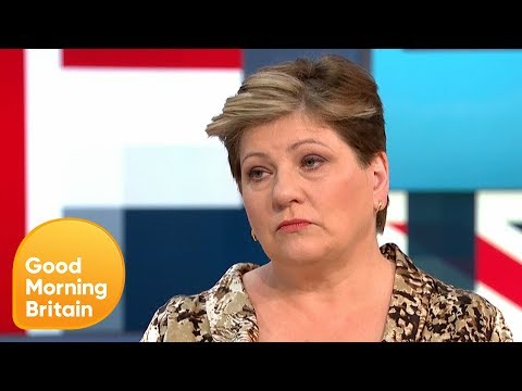 CUMBIA DE HOY - SHADOW FOREIGN SECRETARY EMILY THORNBERRY ON BREXIT AND DONALD TRUMP | GOOD MORNING BRITAIN