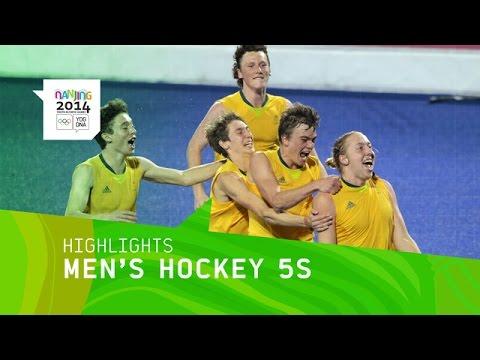 Australia Win Men\'s Hockey 5s Gold - Highlights | Nanjing 2014 Youth Olympic Games