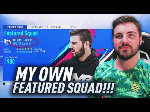 MY OWN FEATURED SQUAD IN FIFA 19!!! (ULTIMATE DIFFICULTY)