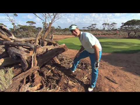 Outback Golf. 1000 Mile Golf Course across Western and South Australia