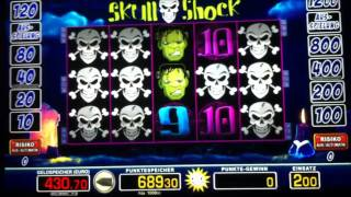 Merkur Magie Skullshock Spielsession auf hohem Einsatz Abowunsch