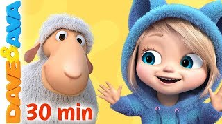 🐾The Animal Song + More Nursery Rhymes & Kids Songs | Dave and Ava 🐾