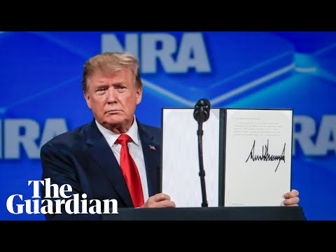 Trump pulls US out of UN arms treaty