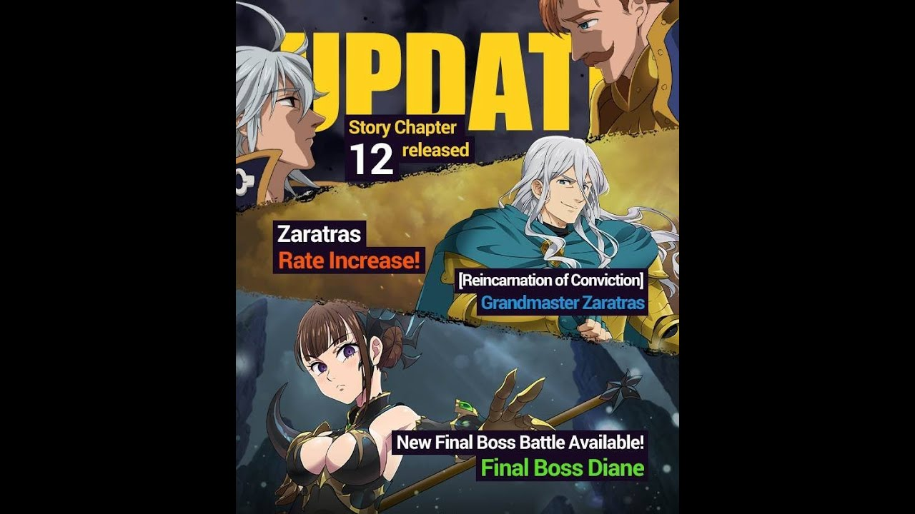 BIG UPDATE COMING! SUPER BOSS DIANE AND FREE MULTIS FOR GLOBAL! | Seven Deadly Sins: Grand Cross
