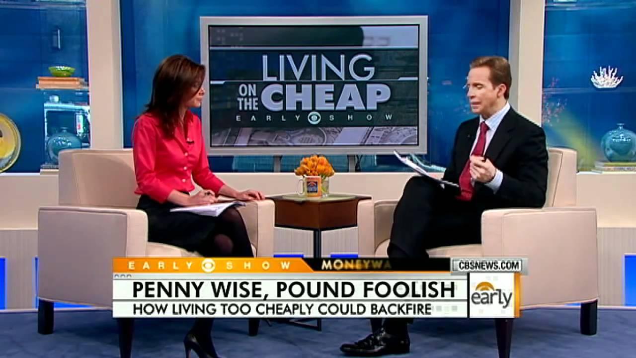 penny save pound foolish