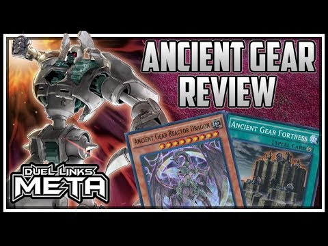*NEW* Ancient Gear Structure Deck Review + Replays! [Yu-Gi-Oh! Duel Links]