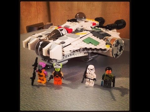 LEGO Star Wars The Ghost set 75053 Full Review Summer 2014 wave