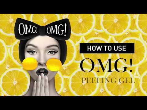OMG! PEELING GEL HOW TO USE