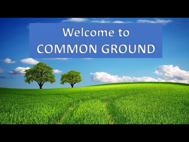 Common Ground message - Roman Series #2