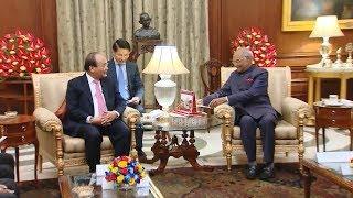Thủ tướng Nguyễn Xuân Phúc hội kiến với Tổng thống Ấn Độ