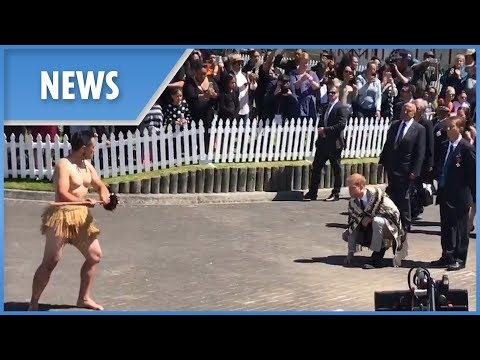 Prince Harry honoured with Maori Haka Pōwhiri ceremony in Rotorua