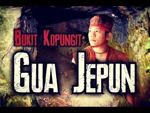 Japanese cave at kopungit hill Part 1   Sabah Borneo