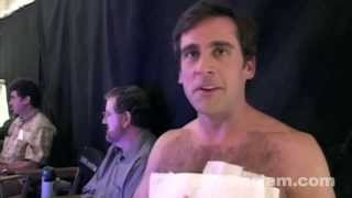 40 Year-Old Virgin: Behind the Scenes of Steve Carell