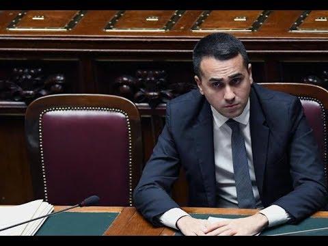 Grillo Conte E Il PD Fanno Scappare Il Capo Grillino Di Maio, Crepuscolo Di Un Sogno
