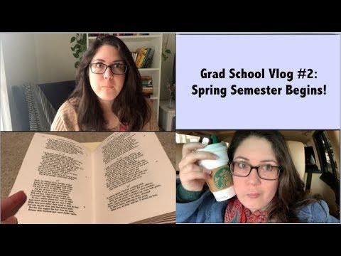 Grad School Vlog #2 || English Lit PhD
