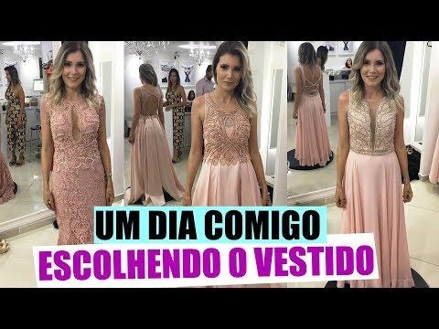 ESCOLHENDO VESTIDO - MADRINHA - CASAMENTO Jessica Vasconcelos e Matheus thumbnail