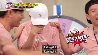 [RunningMan] Ep 365_0827_JaeSeok eventually selected himself as the punishment