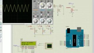 Arduino - Simple Waveform Generator (Simulation)