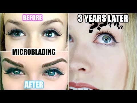 3 YEARS AFTER MICROBLADING! | Was It Worth It? (Eyebrow