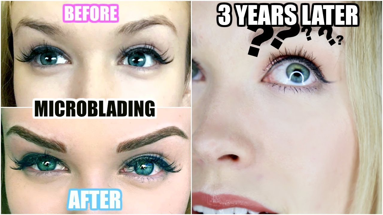 3 YEARS AFTER MICROBLADING! | Was It Worth It? (Eyebrow Tattoo)