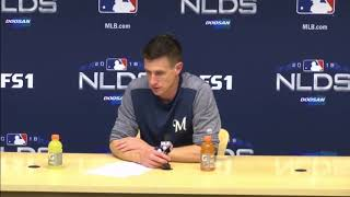 Craig Counsell on Brewers' Game 2 win over Rockies