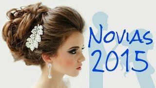 Peinados para novias 2015