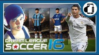 Dream League Soccer 16 - Comprando Cristiano Ronaldo/Kit times BR 2016 peça o seu