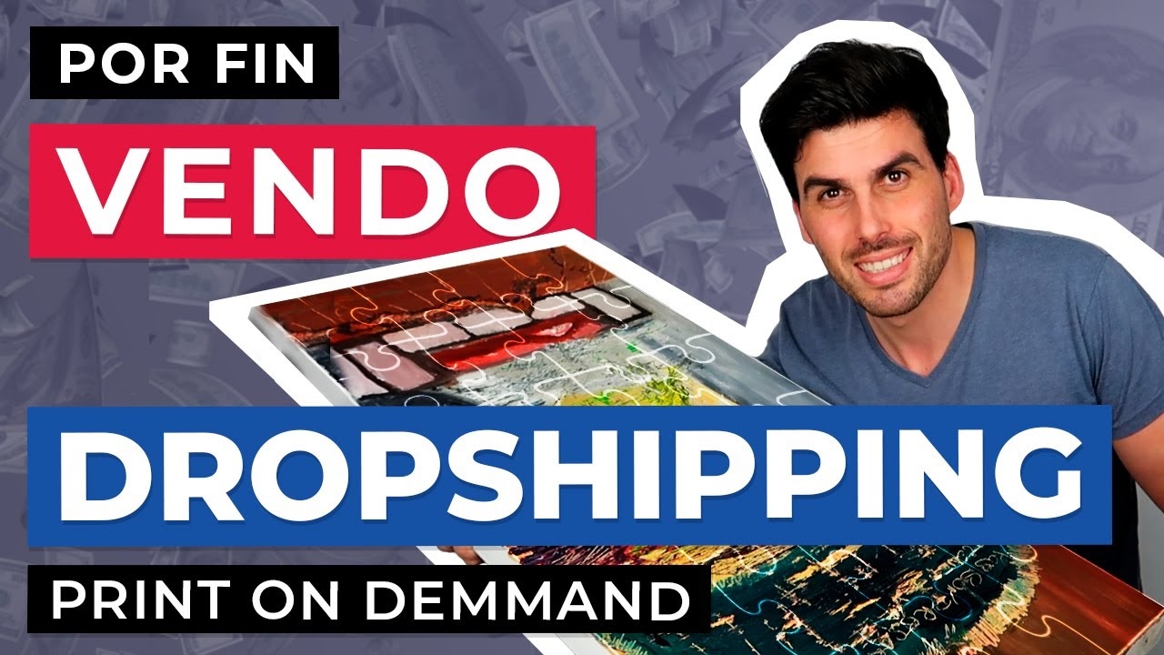 ¡Por fin facturo usando Dropshipping Print on Demand!