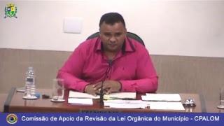 Audiência Pública: Revisão da Lei Orgânica do Município