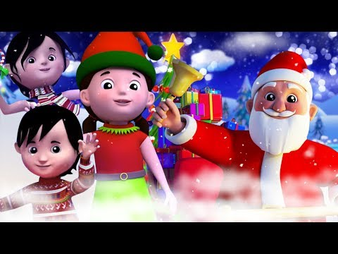Jingle Bells In Hindi | Christmas Carols For Kids | Merry Xmas | Kids Tv India | Christmas For Kids