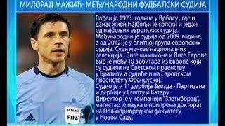 (0.35 MB) Profesionalci: Milorad Mažić, međunarodni fudbalski sudija Mp3