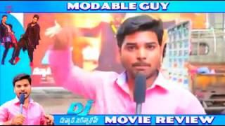 The Modable Guy(English) Funniest Movie Review | Duvvada Jagannadham-DJ | Allu Arjun Pooja Hegde