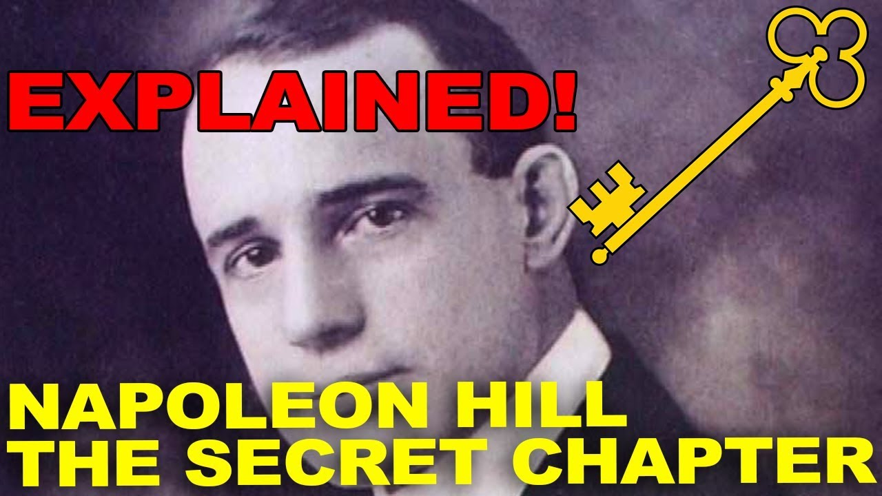 The Secret Chapter By Napoleon Hill Youtube