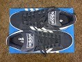 Adidas Campus Suede Shoes D70181 Black/White Unboxing / On Feet