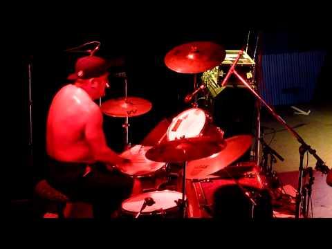 Joe Tatar drumming in D.I.
