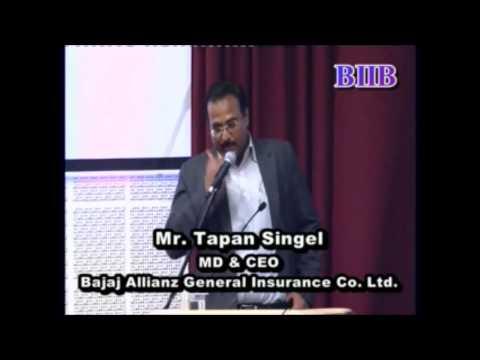 National Seminar 2012 - Mr. Tapan Singhel ( Sri Balaji Society , BIIB )