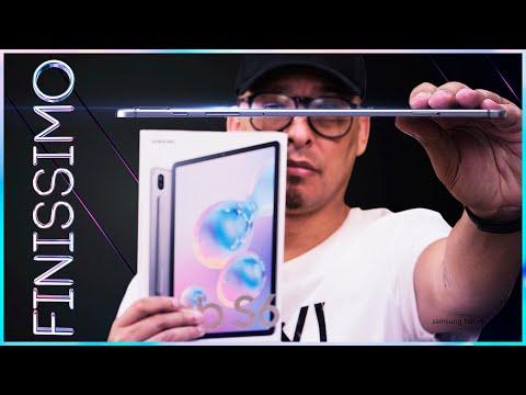 o-melhor-tablet-android!-samsung-tab-s6-unboxing-e-impressões!
