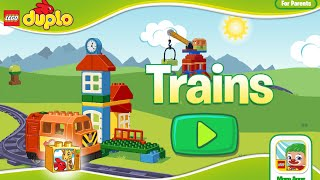 Lego Duplo Train. Lego train games. Top best apps for kids on ipad & android