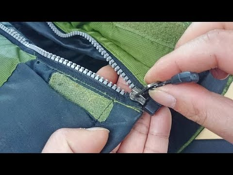 衣服拉链藏个小机关,轻轻一拉就能更换拉链头,方法太实用了
