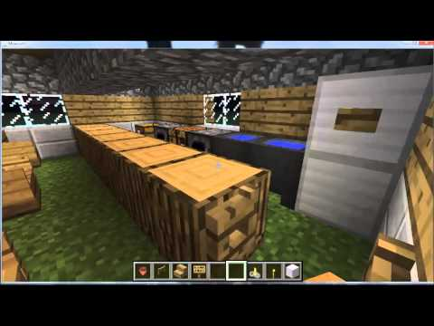minecraft tuto comment faire un bar youtube. Black Bedroom Furniture Sets. Home Design Ideas
