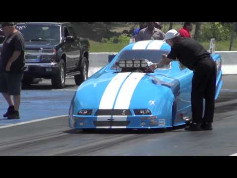 Alcohol Dragster/Funny Car Lebanon Valley Dragway Regional Race 2012