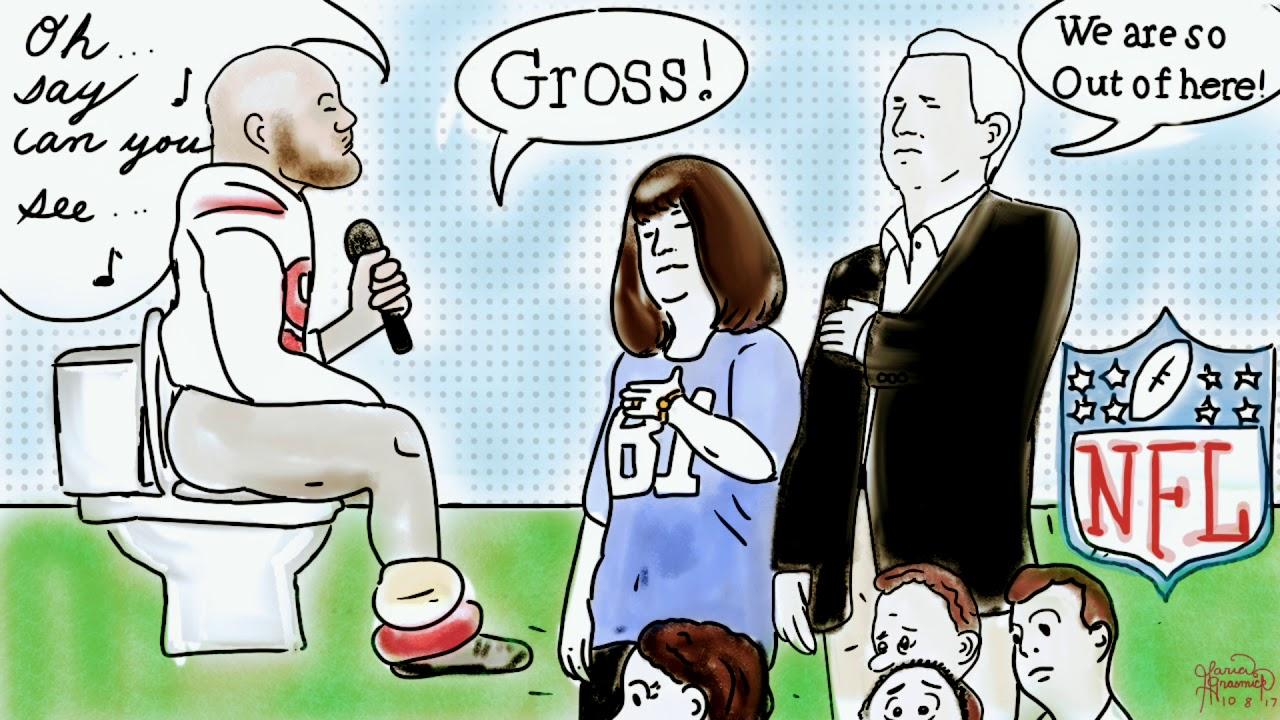 Mike pence nfl 49ers political cartoon takeaknee youtube mike pence nfl 49ers political cartoon takeaknee voltagebd Choice Image