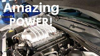 2019 Dodge Challenger SRT Hellcat Redeye engine with 797 HP engine