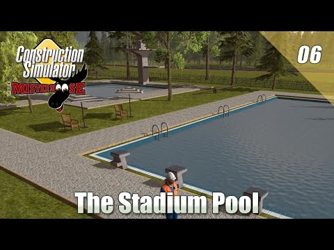 Construction Simulator 15 Live! - Building The Stadium Pool