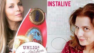 Regina Halmich bei Uhligs stilles Örtchen