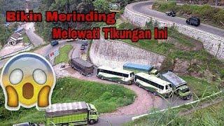 Bikin Merinding !!! 5 Tikungan Tajam Di Indonesia