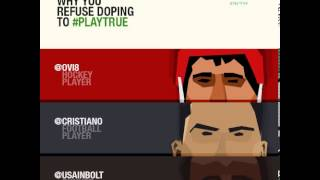 2013 Cannes Cyber Young Lions: World Anti-Doping Agency — Play True