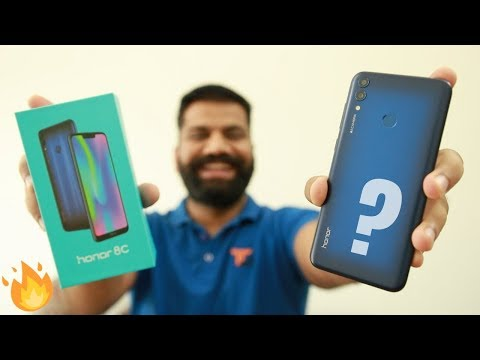 Honor 8C Unboxing & First Look - World's First Snapdragon 632 and More